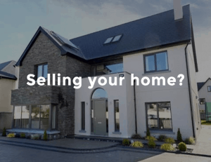 Selling your home. Image of house for sale