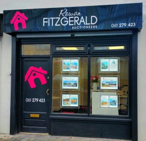 Rowan Fitzgerald Auctioneers Shop Front