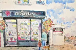 An artists impression of the Rowan Fitzgerald Auctioneers office